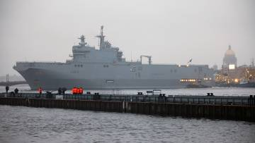 Full-spec Mistral ships to be Built By Russia and France?