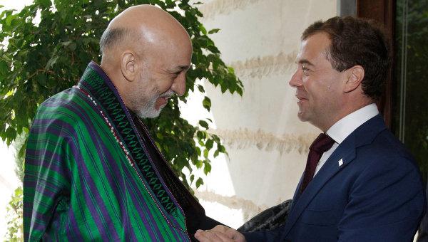 Karzai and Medvedev…