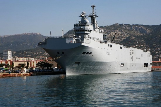 The French Mistral-class Assult Ship Won The Russian Tender…