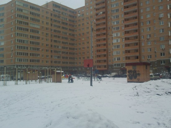 It Just Will Not Quit Snowing: Walking The Dog in Russia…