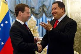 Medvedev and Chavez call for peace in Libya…