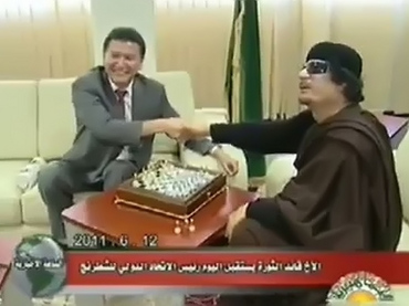 """Gaddafi is ready for unconditional talks"" – chess envoy…"