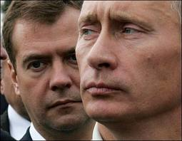 Lets Swap: Putin Runs for President and Medvedev for Prime Minister…