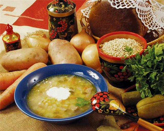 A Russian Rassolnyk Soup Recipe…