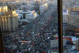 Interesting Happening: Moscow needs people to leave the City Center…