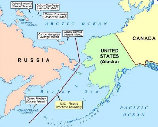 A Tidbit of History Still in the Making: Russia is stealing them there Islands, says Alaska…