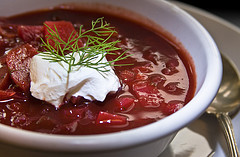 Vegetarian Borscht: for those times that meat seems just too much…