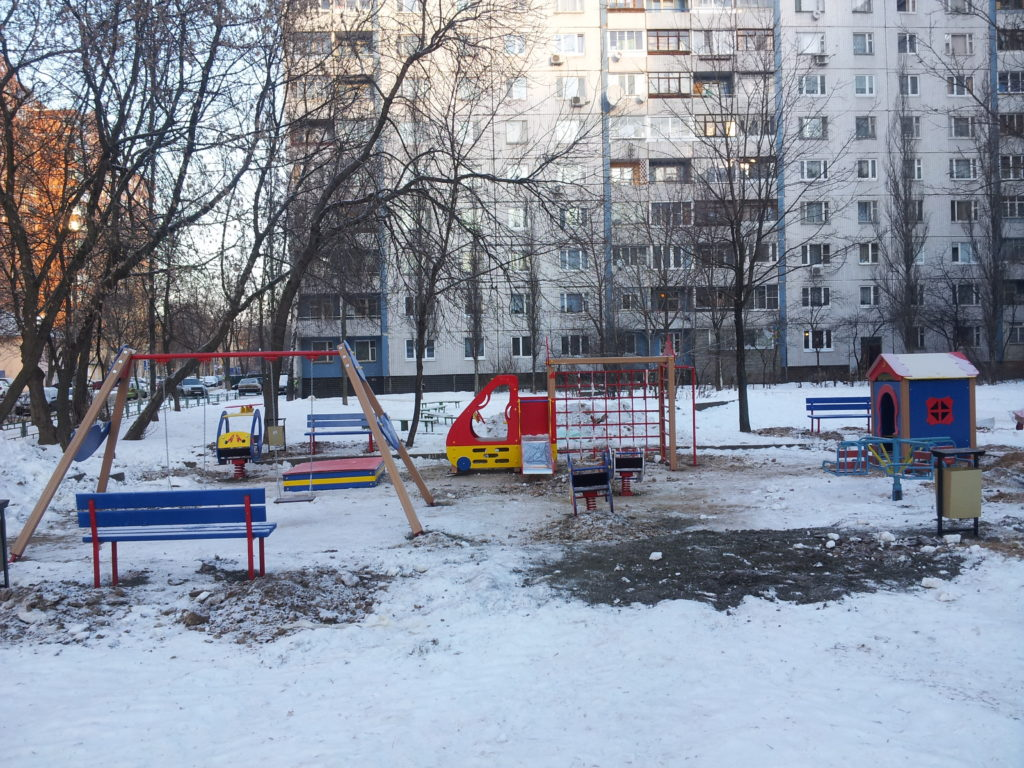 -25 Celsius and Russians Install a Playground…