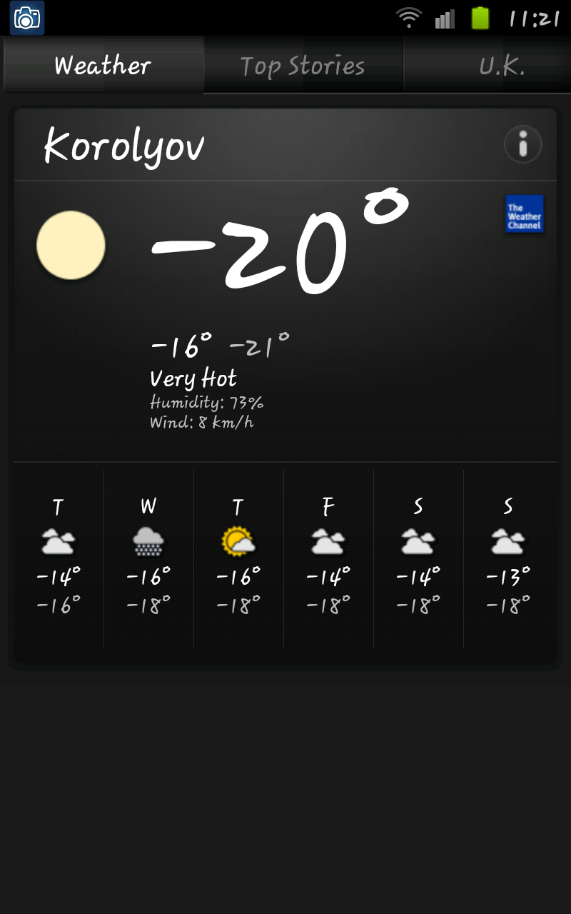 """Very Hot in Moscow, Russia and """"The Weather Channel"""" Says So…"""