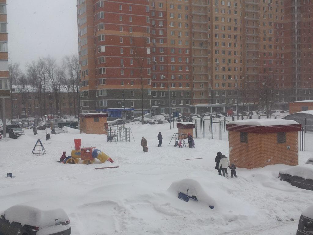 A Russian Winter…