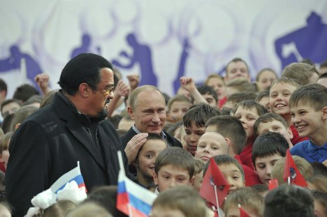 Steven Seagal and Putin Doing Business: New Martial Arts Center…