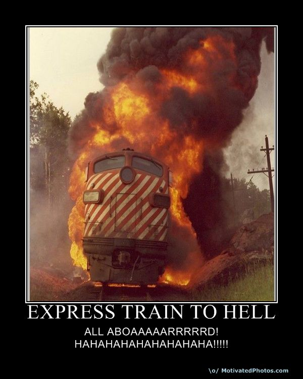 From Russia: The Orwellian Express…
