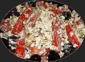 Recipe: Cottage Cheese Salad: from Russia.