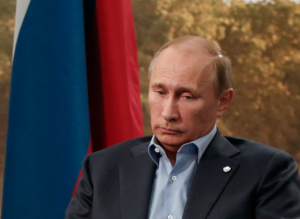 Putin thinking about G8 stupidity...