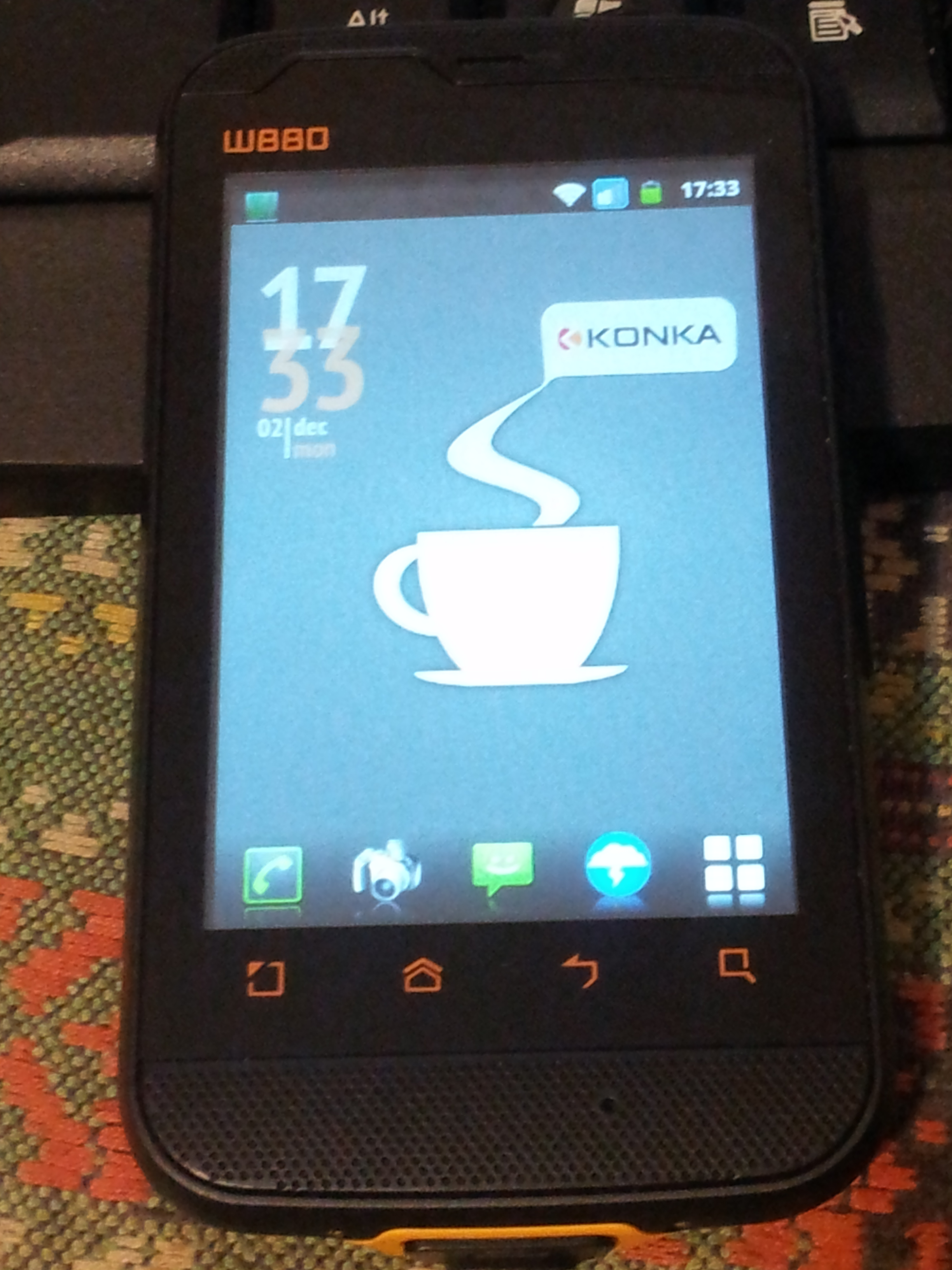 Update: Konka W880 Simply Perfect…