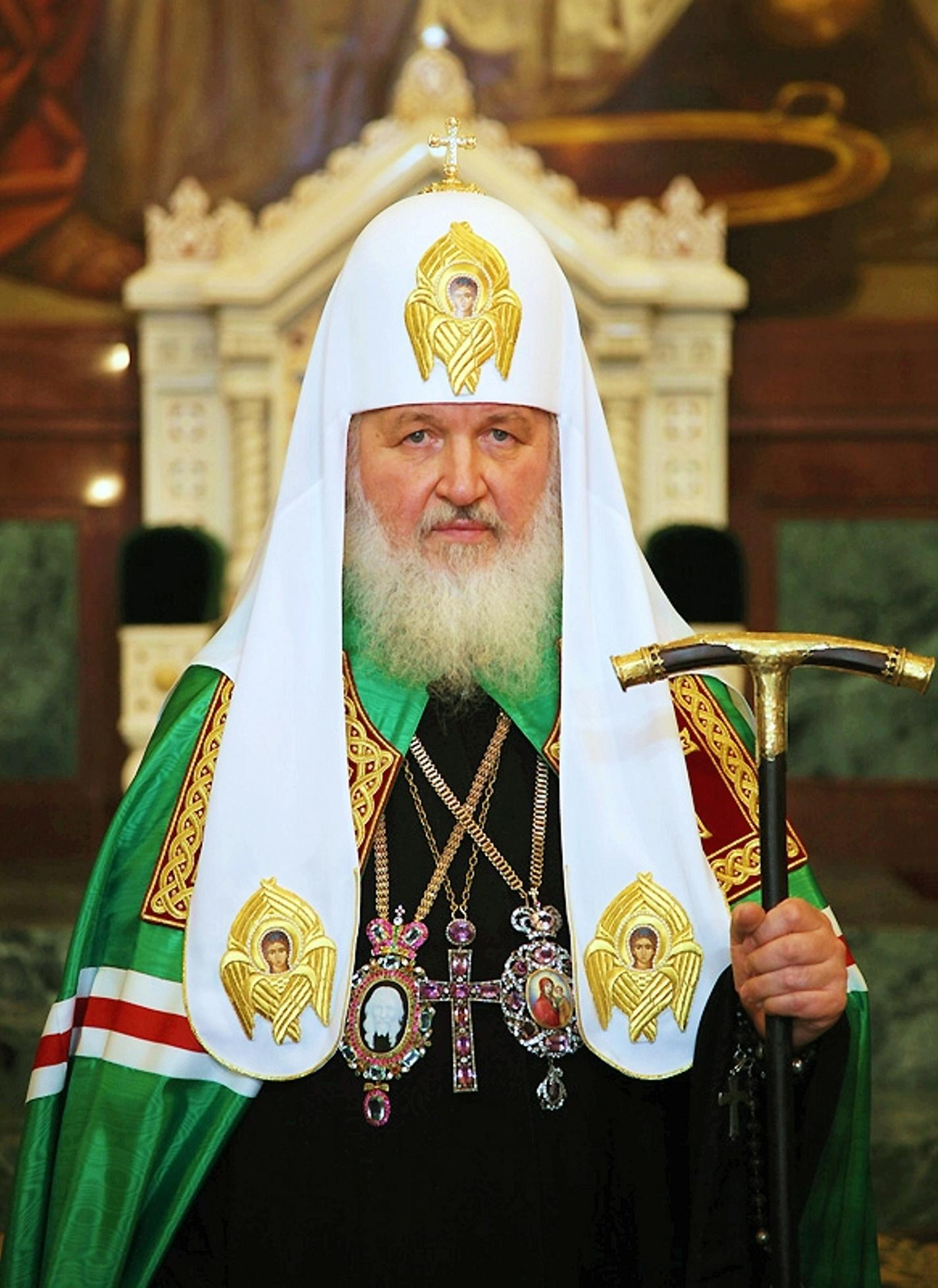 Holiness Patriarch Kirill of Moscow / Russia: 2013 Christmas