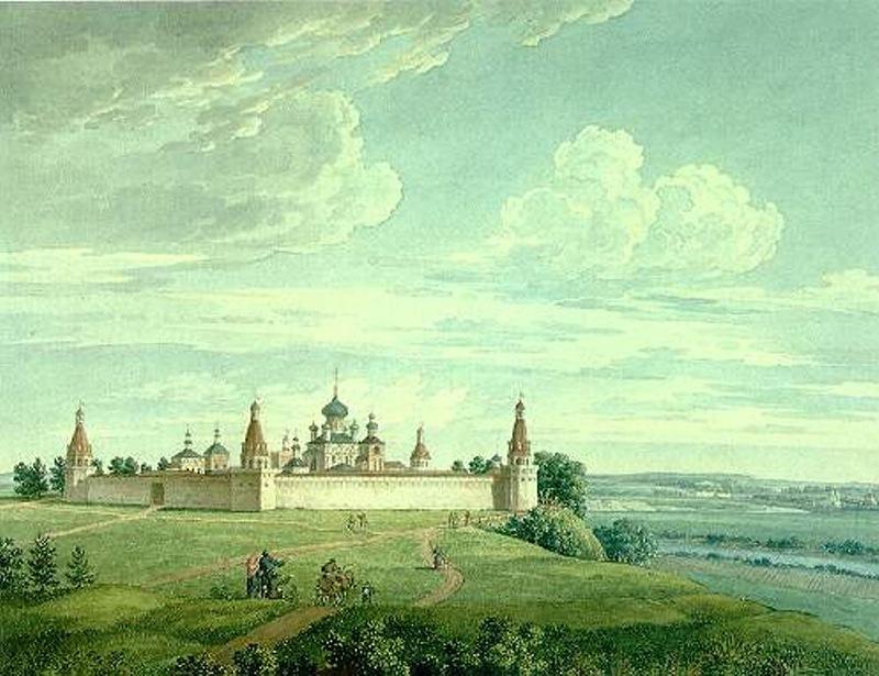 Simonov Monastery 1917