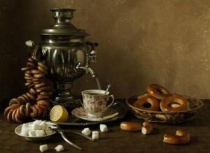 tea and baranki