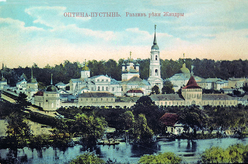 Optina Monastery near Kozelsk in Russia (8)