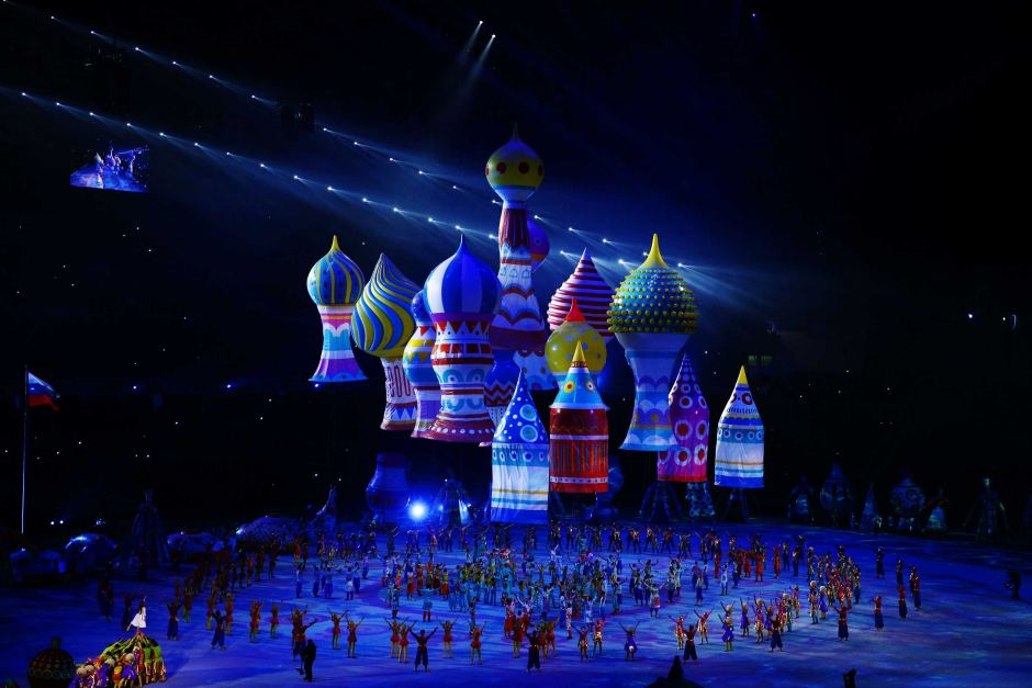 Sveta and I Watched the Sochi 2014 Olympics Opening Ceremony…
