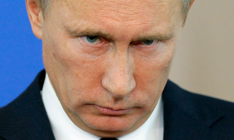 Putin's answer to Obama's threat over Ukraine…