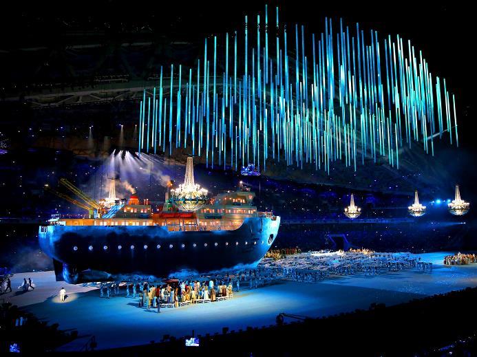 Paralympics Opening Ceremony: Sochi 2014…