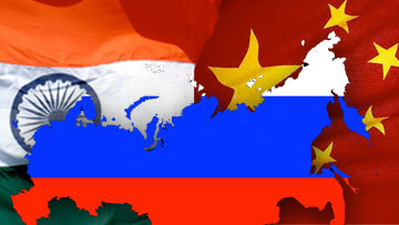 India, China and Russia means pipeline in future…