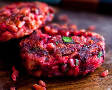Beet Patties, no not Beef Patties, but Beet Patties Recipe…