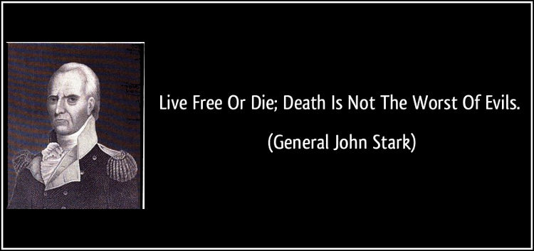 Coffee Thought Time: Live Free or Die…