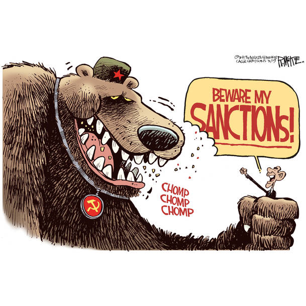 Sanctions are a joke against the Russian people…