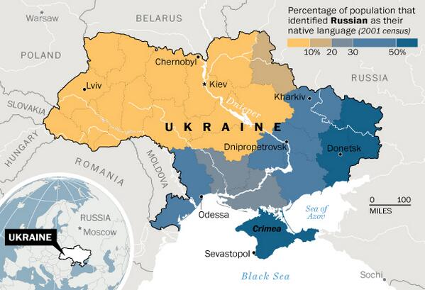 West Ukraine had lost the Civil War against East Ukraine…