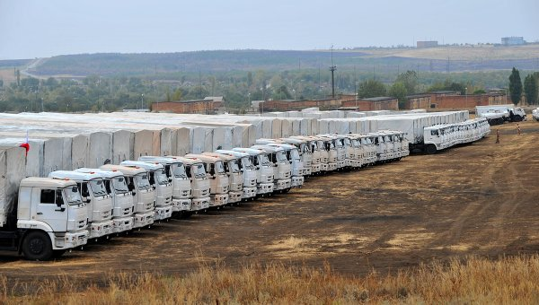 Second Russian Convoy of Aid Returning from Ukraine…