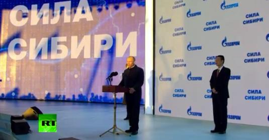 Russia and China and that Gaz (Gas)… (Video)