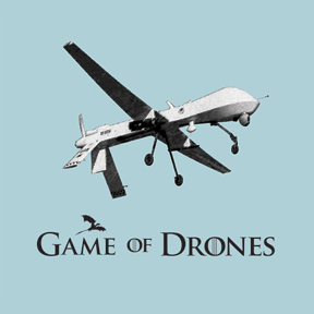 At one time we still cared: Now Drones…