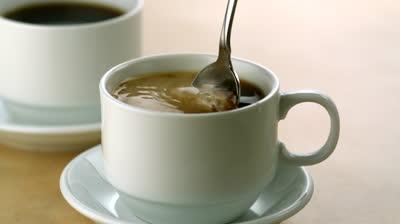 coffee stirring