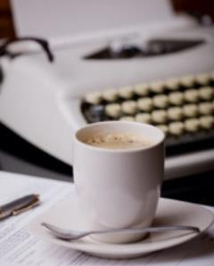 coffee and write