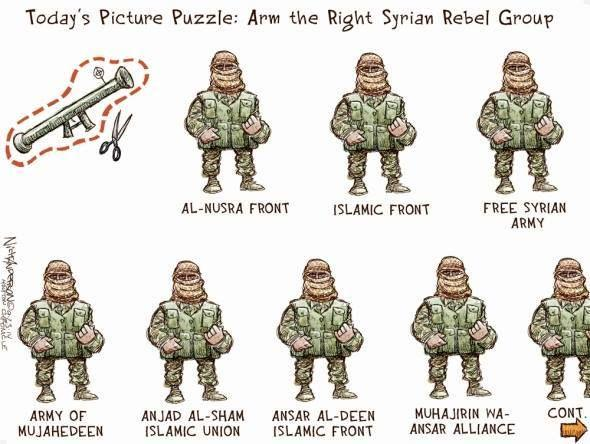 arm the terrorist