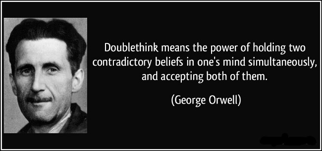 Image result for doublethink