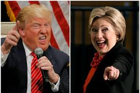 Hillary and Trump – LOL…