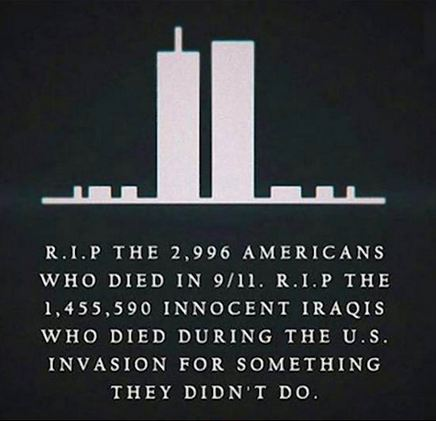 Mourn those that died, but Talk about 9-11…
