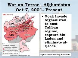 US troops invaded Afghanistan on October 7, 2001…