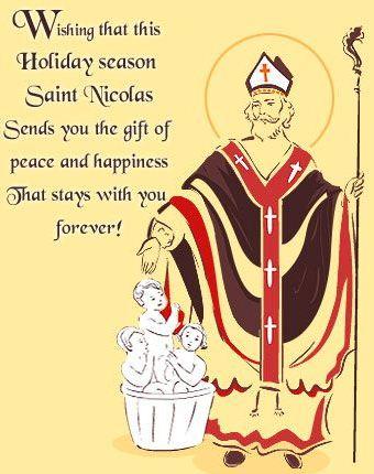 Happy Saint Nicolas Day…