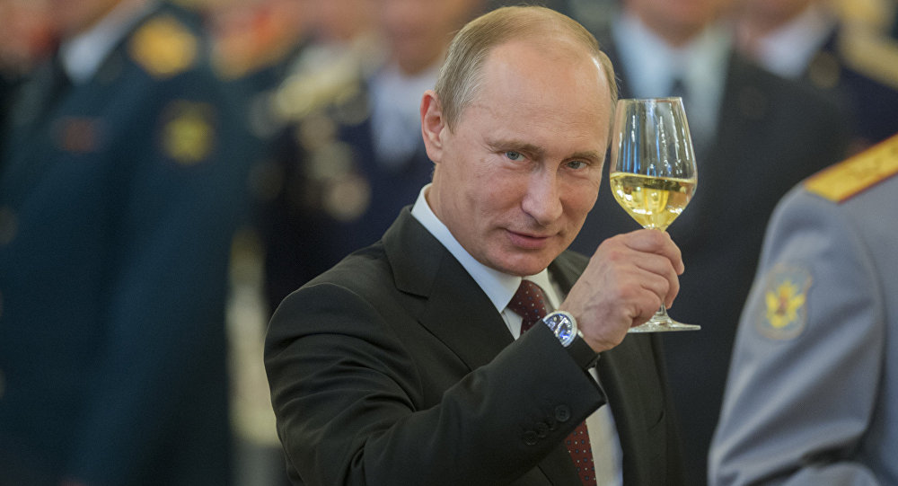President Putin of Russia to Obama and the USA!