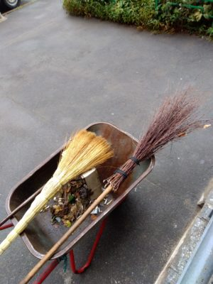 I have actually had Americans complain about these brooms…