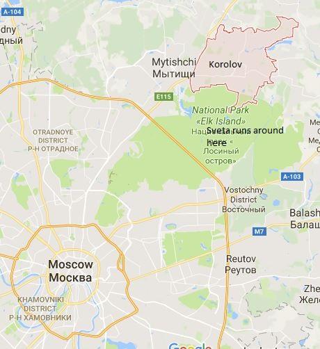 Korolov, Russia is where we live…